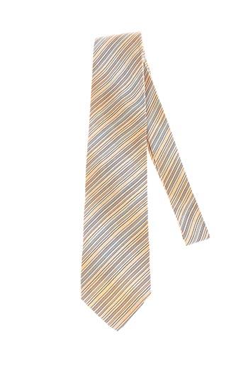 Cravate jaune HUGO BOSS pour homme