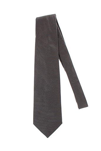 Cravate marron CERRUTI 1881 pour homme