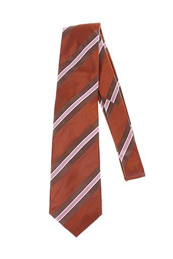 Cravate marron MAC-TY pour homme