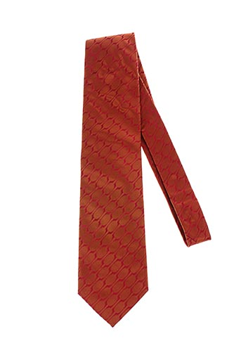 Cravate orange HUGO BOSS pour homme