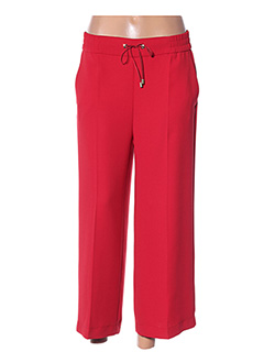 Pantalon 7/8 rouge DIANA GALLESI pour femme