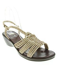 Sandales/Nu pieds jaune CORINE pour femme