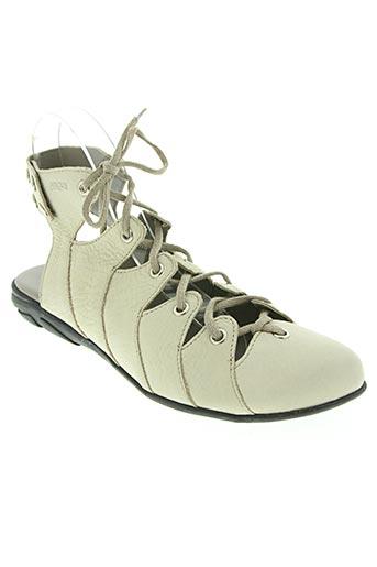 Sandales/Nu pieds beige ARCUS pour femme