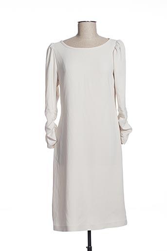 Robe mi-longue beige EFYSE pour femme