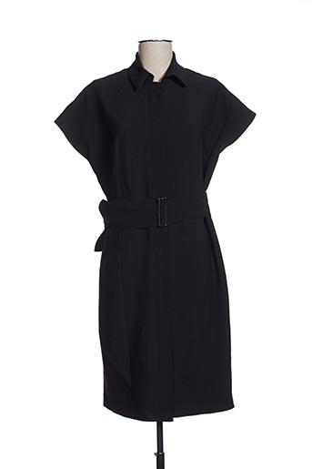 Robe mi-longue noir EFYSE pour femme