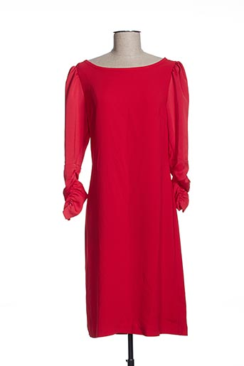 Robe mi-longue rouge EFYSE pour femme