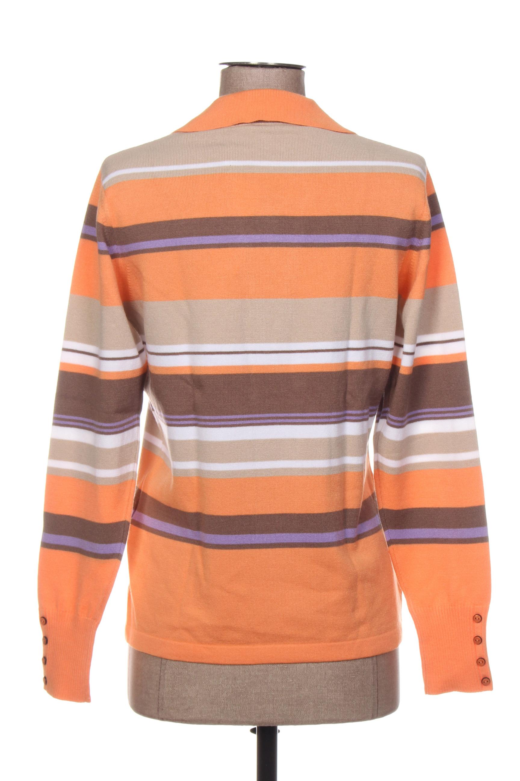Rabe Encolure Carree Femme De Couleur Orange En Soldes Pas Cher 1407131-orange