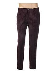 Pantalon chic violet SCOTCH & SODA pour homme seconde vue