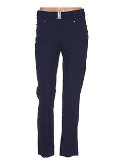 Pantalon casual bleu DECA pour femme