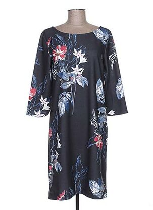 Robe mi-longue bleu BETTY AND CO pour femme