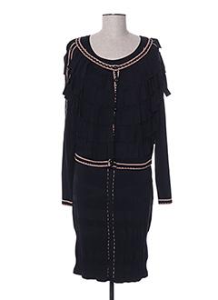 Veste/robe noir PATOUCHKA pour femme