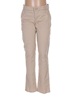 Pantalon casual beige GAP KIDS pour fille
