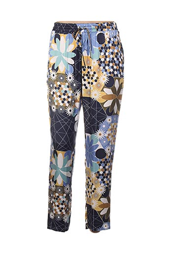 Pantalon casual bleu MANILA GRACE pour femme