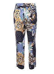 Pantalon casual bleu MANILA GRACE pour femme seconde vue