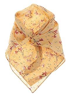 Foulard jaune POLES pour femme