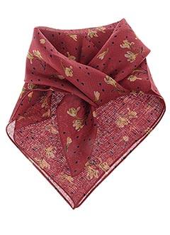 Foulard rouge POLES pour femme