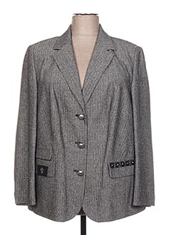 Veste chic / Blazer gris TELMAIL pour femme