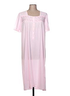 Chemise de nuit rose GLORIA BARONI pour femme