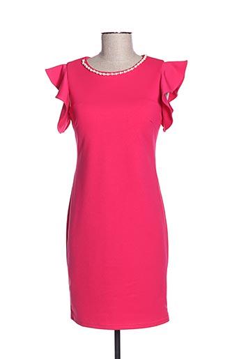 Robe mi-longue rose CHARM'S pour femme