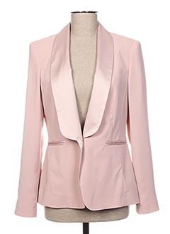 Veste chic / Blazer rose EDAS pour femme