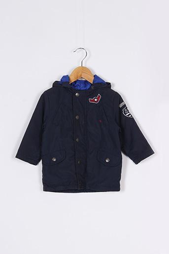 Manteau court bleu MARESE pour garçon