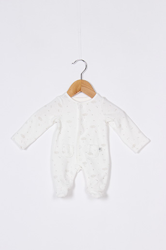 Pyjama blanc TAPE À L'OEIL pour fille