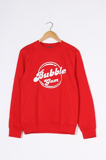 Sweat-shirt rouge FAUBOURG 54 pour femme