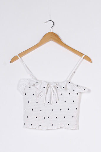 Top blanc FOREVER 21 pour femme