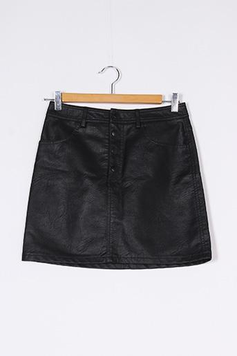 Jupe courte noir PIMKIE pour femme
