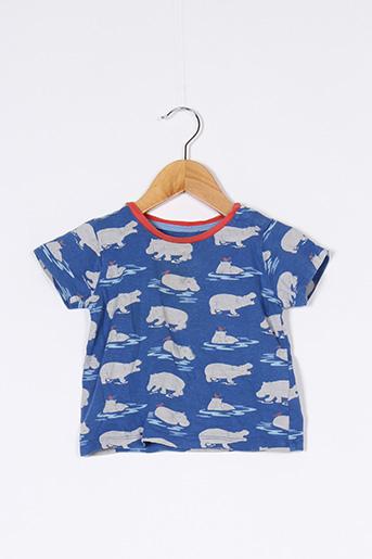 T-shirt manches courtes bleu BODEN pour garçon