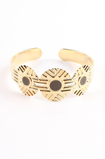 Bracelet Jonc jaune CHIC ALORS pour femme