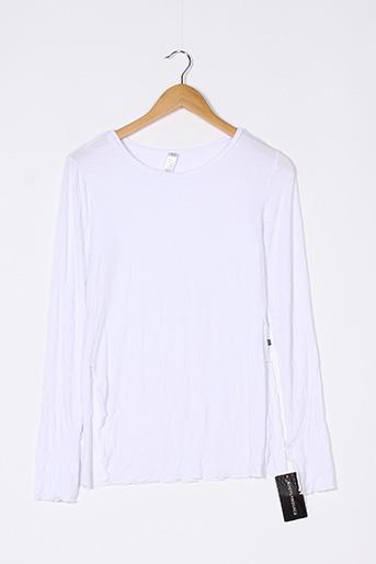 T-shirt manches longues noir SANS MARQUE pour femme