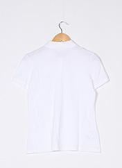 Polo manches courtes blanc LACOSTE pour femme seconde vue