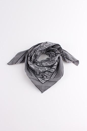 Foulard gris SANS MARQUE pour femme
