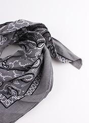 Foulard gris SANS MARQUE pour femme seconde vue