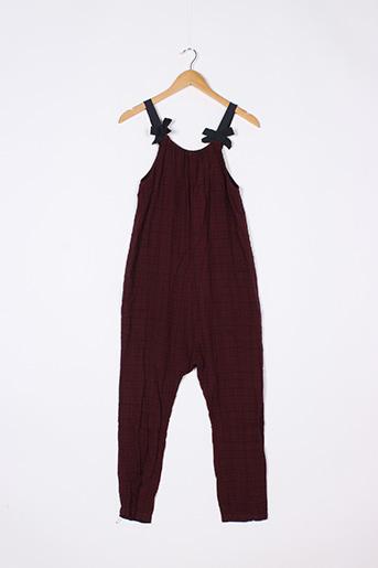 Combi-pantalon rouge ZARA pour fille