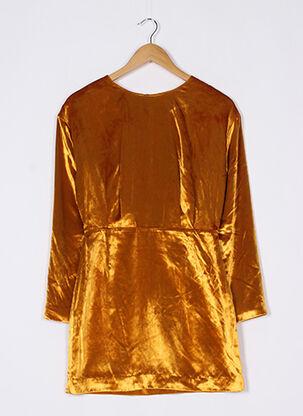 Robe courte jaune & OTHER STORIES pour femme