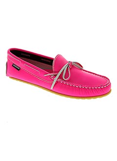 Chaussures bâteau rose DIGGERS pour femme