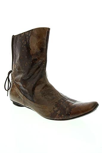 Bottines/Boots marron IPPON STYL pour femme