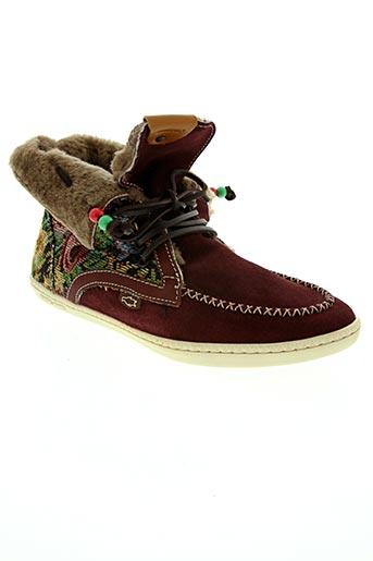 Bottines/Boots rouge DOLFIE pour femme