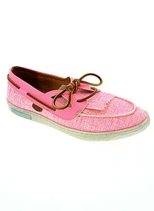 Chaussures bâteau rose DOLFIE pour femme