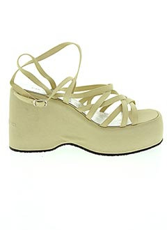 Sandales/Nu pieds beige FORNARINA pour femme