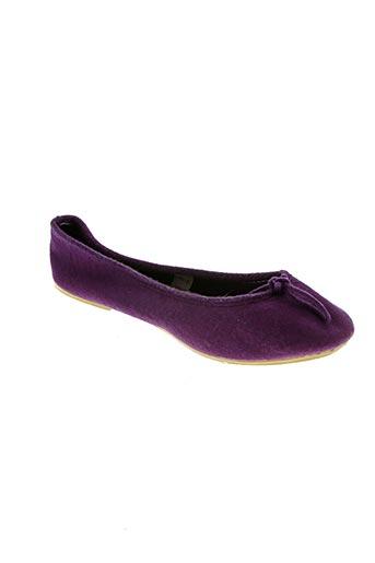 Ballerines violet BILL TORNADE pour femme