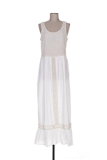 Robe longue beige DEBY DEBO pour femme