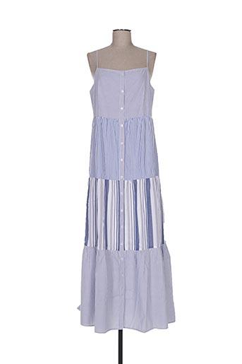 Robe longue bleu DEBY DEBO pour femme