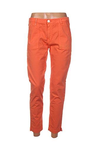 Pantalon 7/8 orange ISLOW pour femme