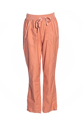 Pantalon casual orange DEHA pour femme