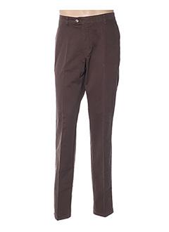Pantalon casual marron GS CLUB pour homme