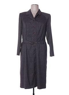 Robe mi-longue marron FRANCOISE DE FRANCE pour femme