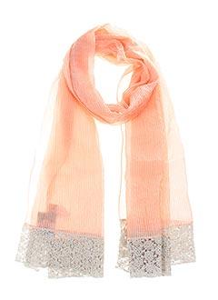 Foulard orange GANTEB'S pour femme